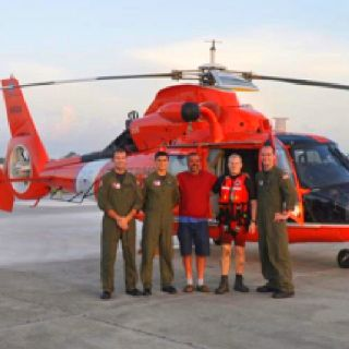 bravo zulu to the crew at coast guard air station new orleans who rescued an overdue us