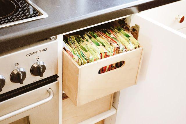 Iby Lippold Haushaltstipps  Ordnung im Küchenschrank - ordnung im küchenschrank