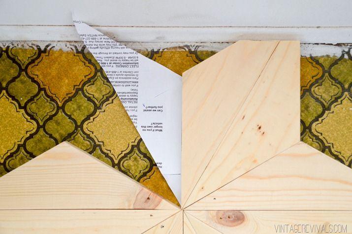 The Nugget: DIY Geometric Wood Flooring for $80! | Wood ...