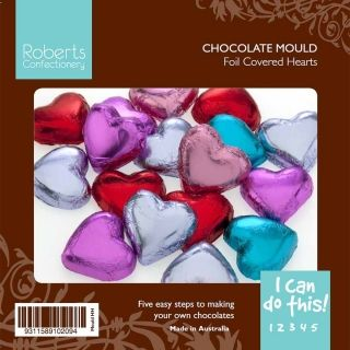 ROBERTS PLAIN HEARTS CHOCOLATE MOULD