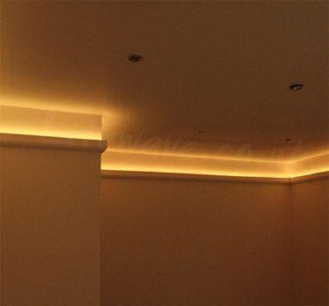 Cove Lighting Example Home Lighting Living Room