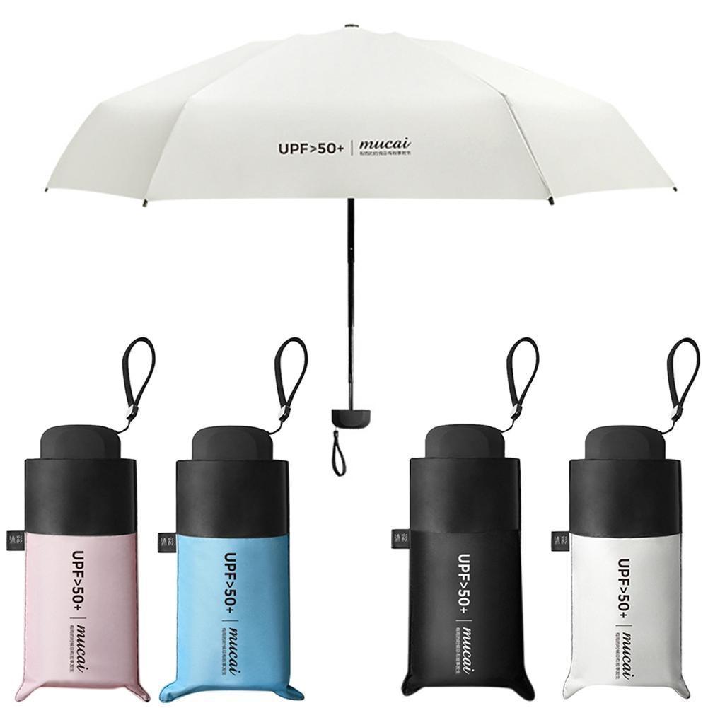 3a686726bcac Anti-UV Pocket Mini Umbrella Rain Women Windproof Durable in 2019 ...