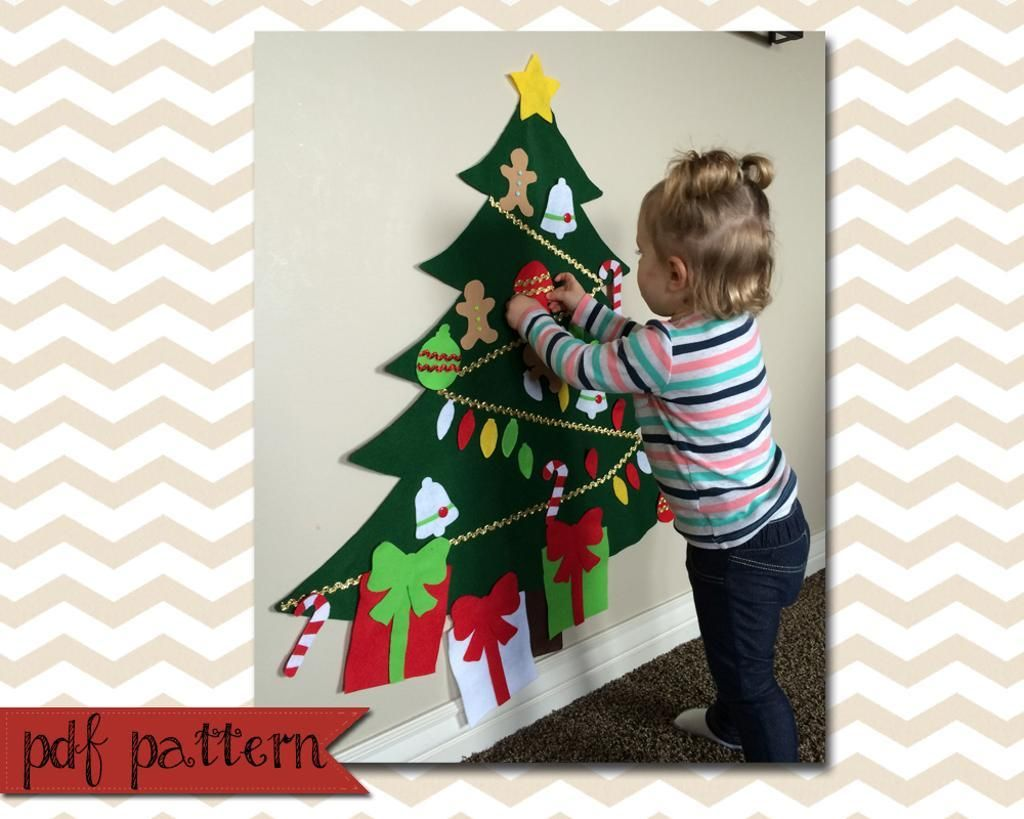 Felt Christmas Tree pattern - - Yahoo Image Search Results | Did You ...