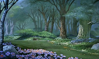 Animation Backgrounds: MARY POPPINS