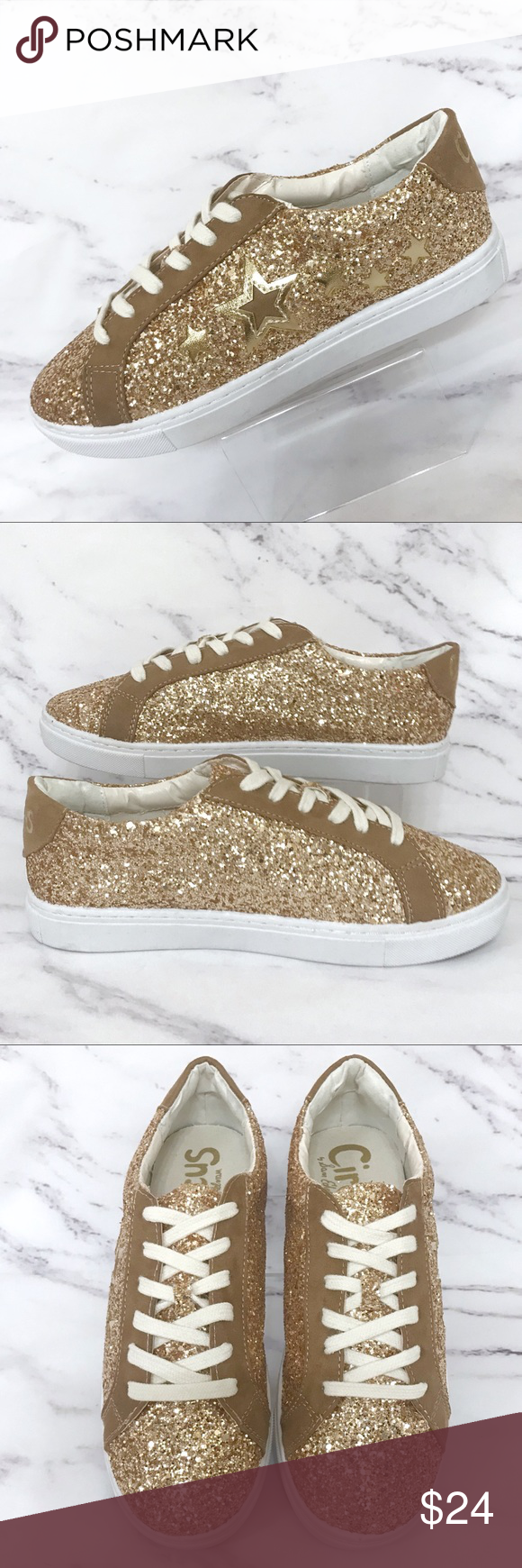 Circus by Sam Edelman Sneakers *GOLD