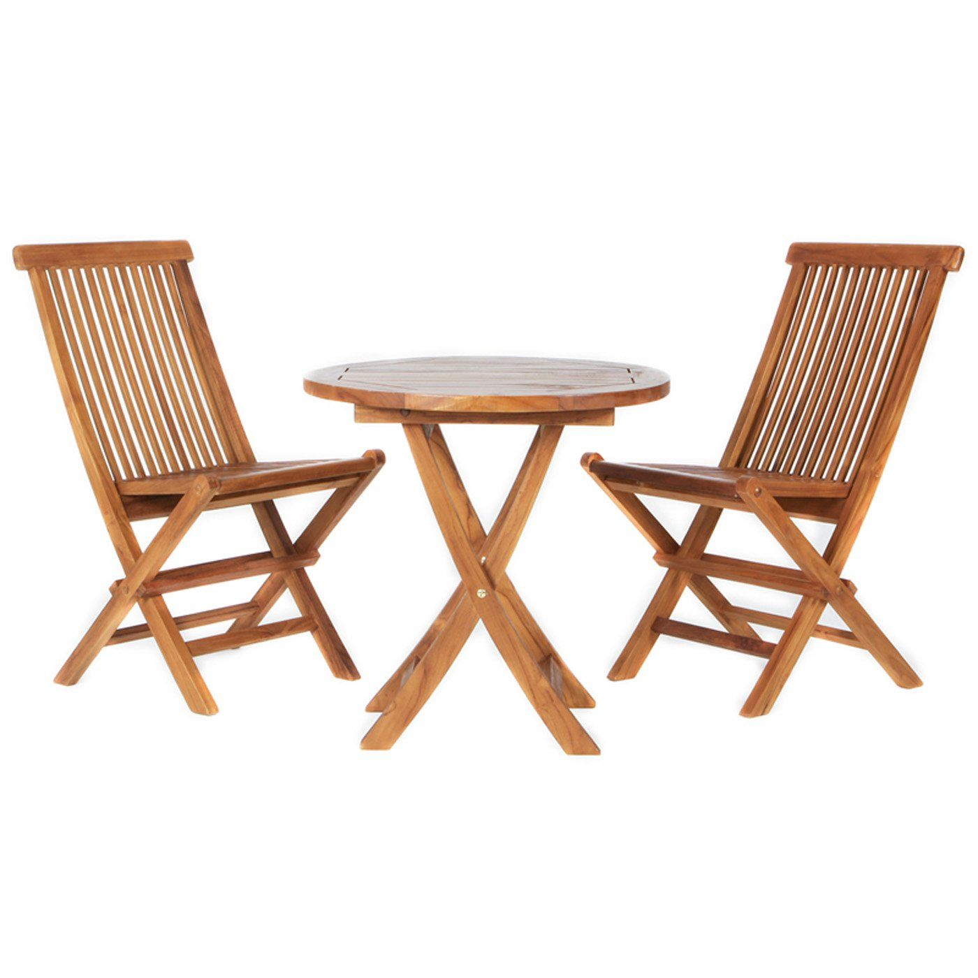 All Things Cedar Teak Bistro Set
