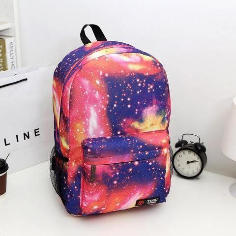Japanese Galaxy Backpack YV16003 (com imagens) | Mochila galáxia, Bolsa do bts, Mochila escolar