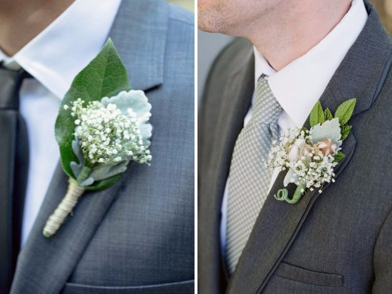 For How Long Does Baby\'s Breath Last?   Boutonnieres, Wedding and ...