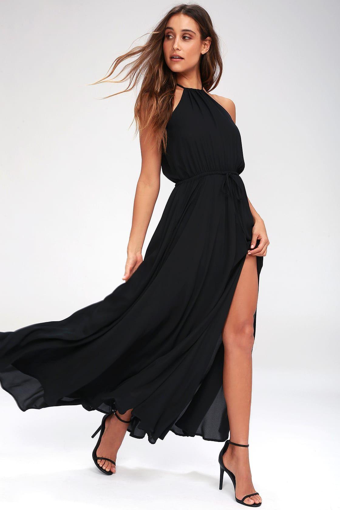 Park Art My WordPress Blog_Black Maxi Dress Casual Outfit