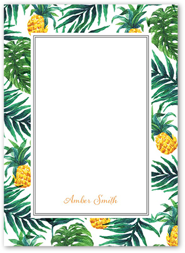 Tropical Delight 4x5 Stationery Card By East Six Products