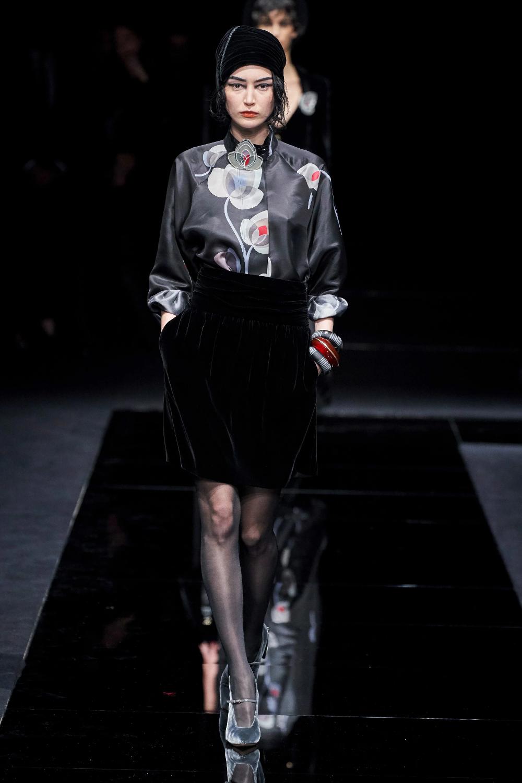 Armani PreFall 2020 Fashion Show armani