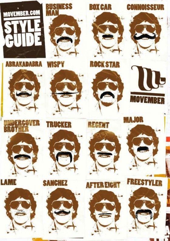 Movember Run Blog - Inspiration for a Movember moustache ...