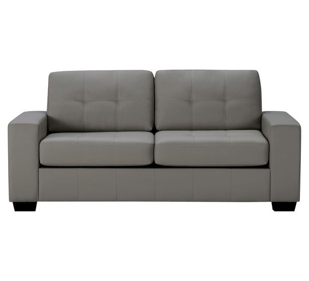 Tivoli 3 Seater Sofa Bed In Grey Fantastic Furniture