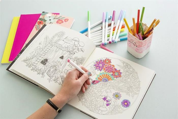 Colorear: arte terapéutico adultos | ARTE | Pinterest | Colorear ...