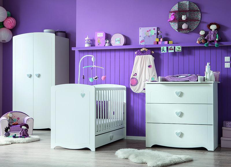 chambre adelie de sauthon passion exclusivit autourdebebe chambres pinterest. Black Bedroom Furniture Sets. Home Design Ideas