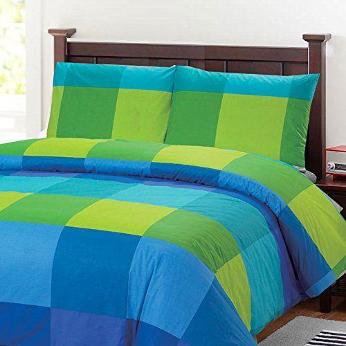 Blue And Green Bedding Sets   Green bedding set, Duvet cover sets