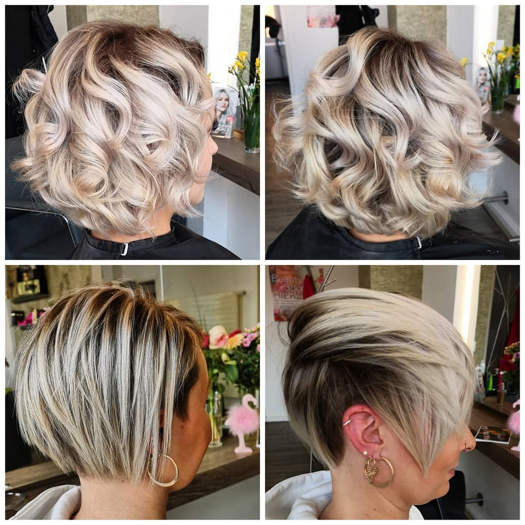 Wir Lieben Die Kombination Aus Weiblich Und Furchtlos Die Dieser Pixie Undercut Verkorpert Kurzes Haar In 2020 Modern Hairstyles Hairstyle Generator Cool Hairstyles