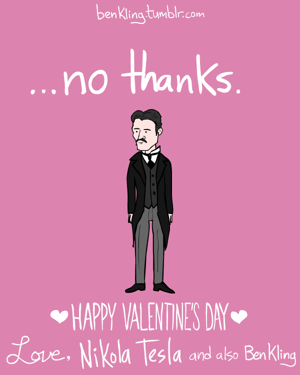 Valentines Day Cards Inspired by Historical Figures  Funny