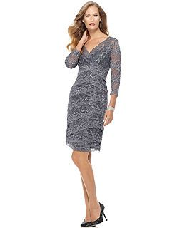 Mother Of The Bride Dresses At Macy S Mother Of The Groom Dresses Macy S Cocktail Dress Lace Lace Dress Macys Dresses Formal