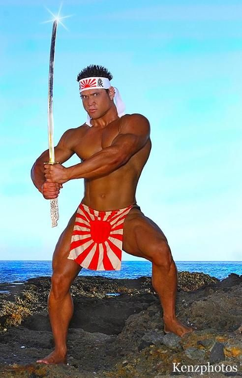 Japanese Flag Loincloth. Hot | warriors