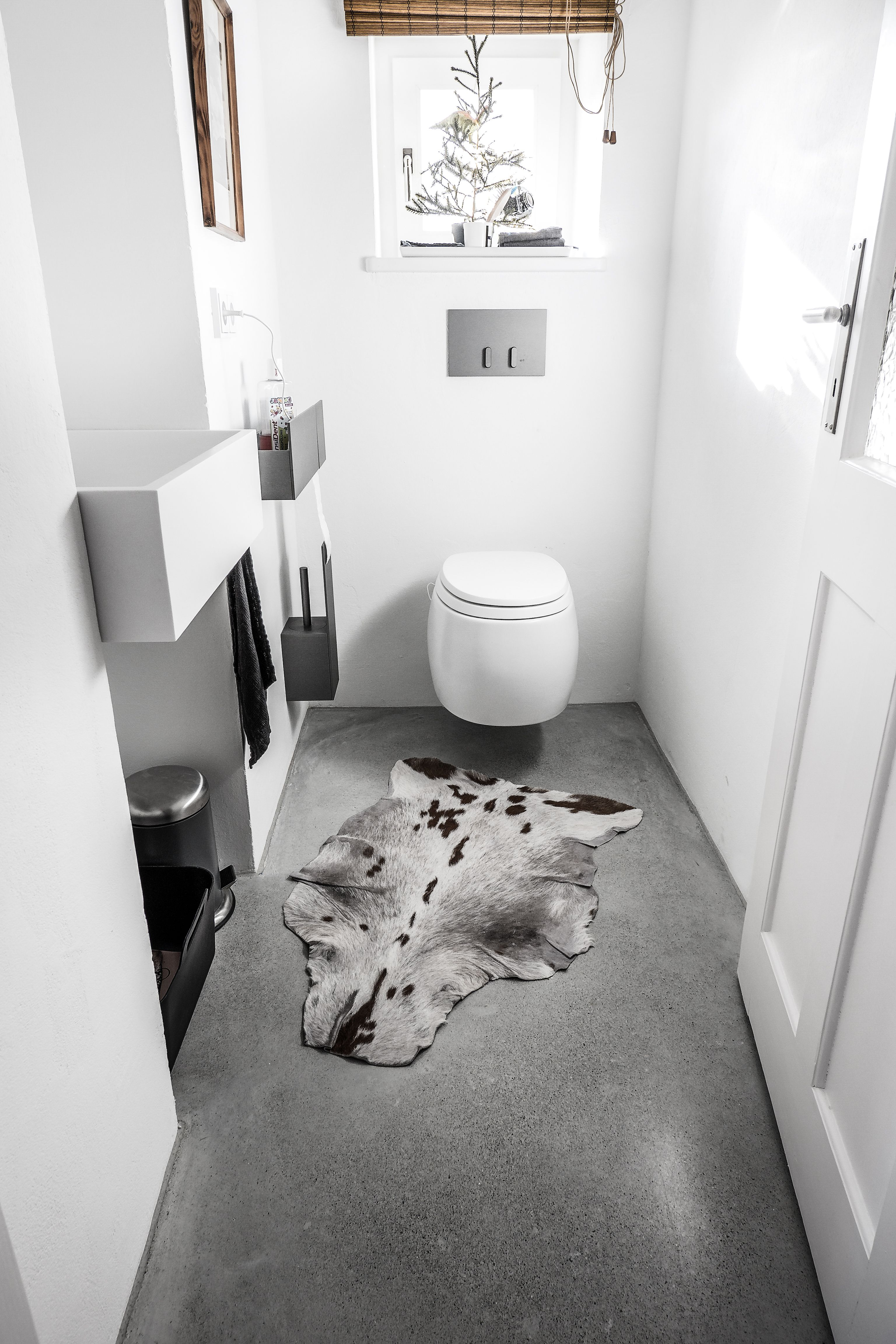 Creafloor Design Estrich Toilette Wc Designboden Sichtestrich Estrich Beton Sichtestrich Estrich Designestrich