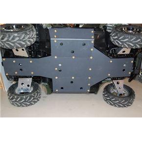 Arctic Cat Prowler Center Skid Plate Tank Guard Set Arctic Cats Armor