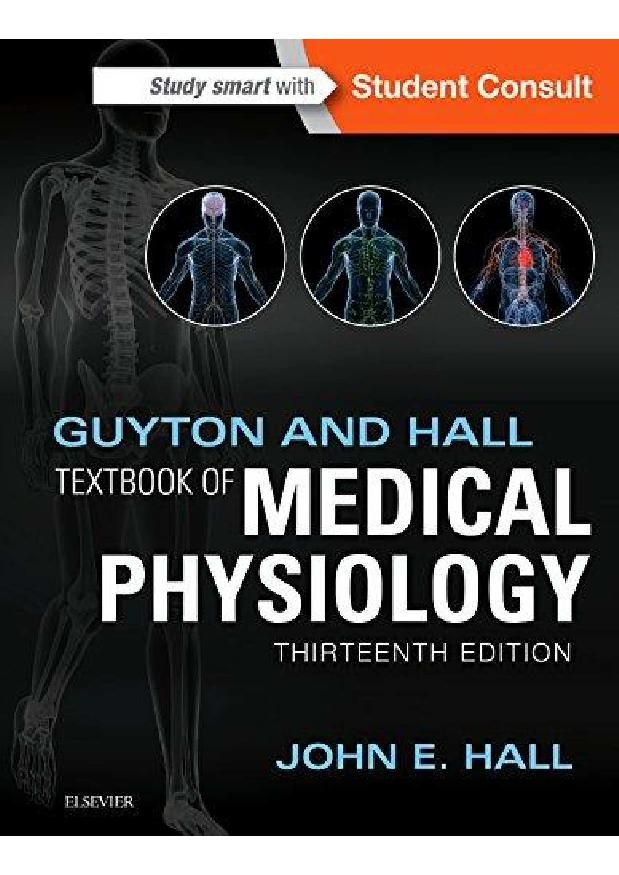Book Name : Guyton and Hall Textbook of Medical Physiology Book ...