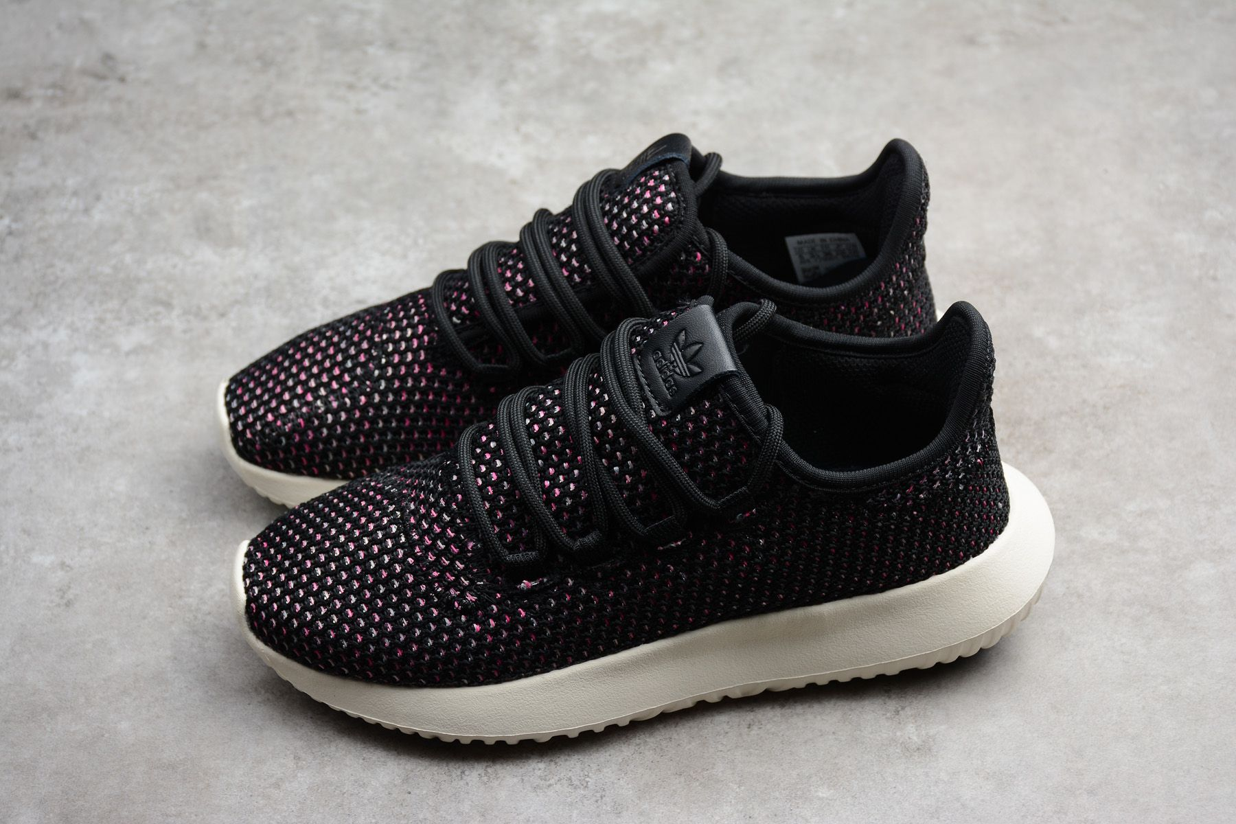 7b56b864277b New adidas Originals Tubular Shadow CK Black White-Pink AQ0886 ...