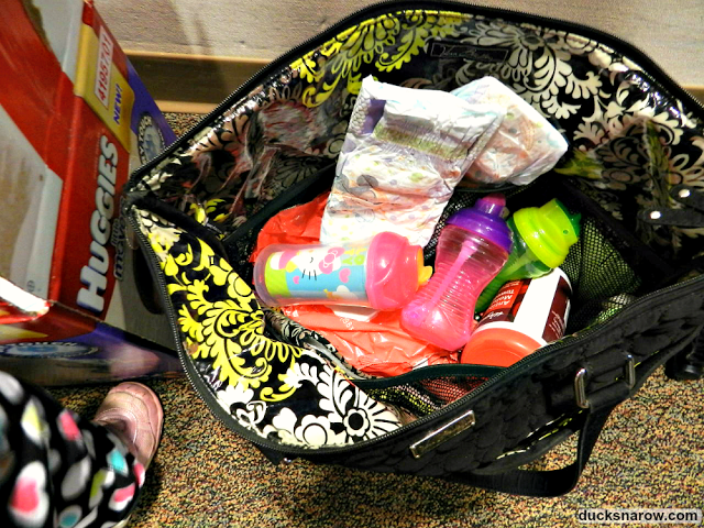 Ducks N A Row 5 Diaper Bag Essentials For Busy Toddler Moms Start With Huggies Little Movers