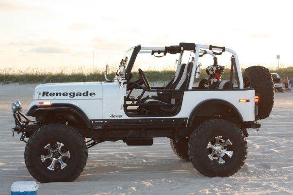 Ncbeachjeep 1977 Jeep Cj7 38187350005 Original Jeep Cj7 Cj7 Jeep