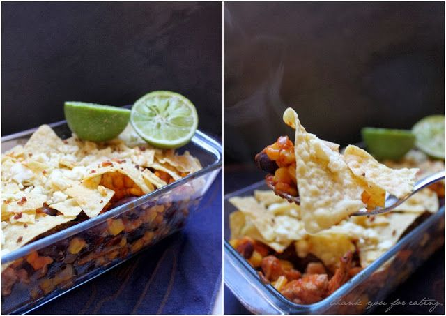 Thank you for eating.: Extra scharf: Nacho-Auflauf mit Tapatío Hot Sauce + GIVE AWAY