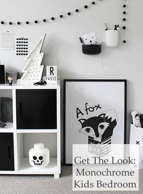 Fd7ae77af8a1435e6e6295e0de04b125 jpg kids posterboys black and white bedroomblack