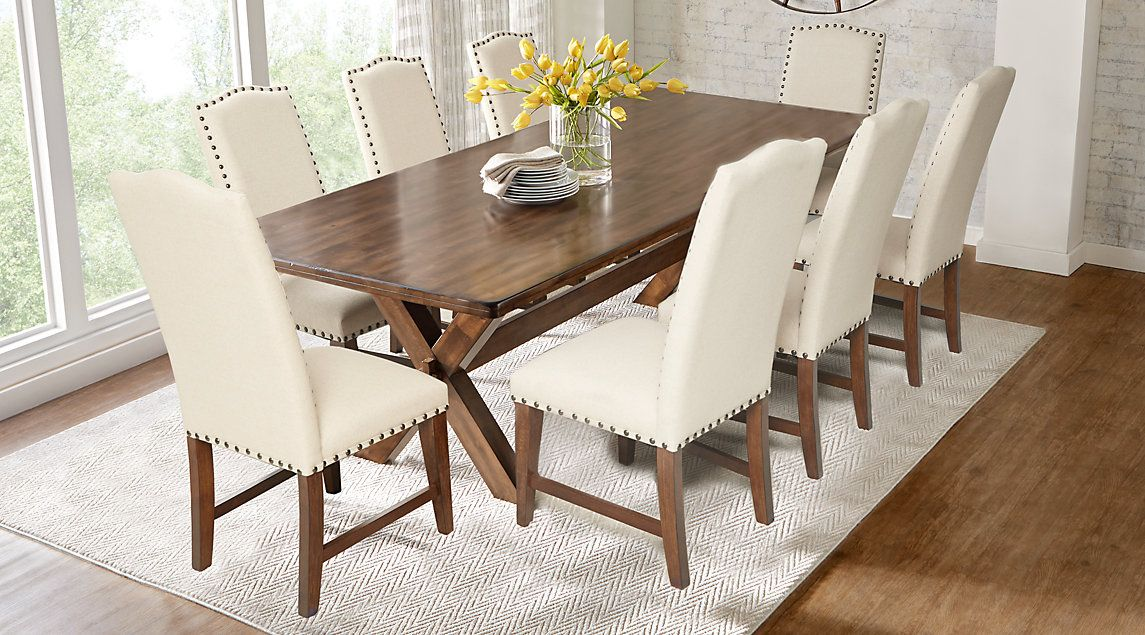 Twin Lakes Brown 5 Pc 72 In Rectangle Dining Room Table Only