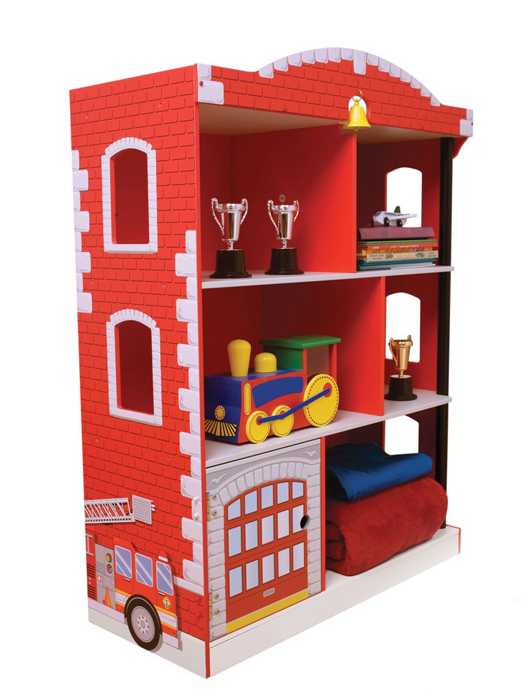 Firehouse Bookcase by KidKraft at Gilt