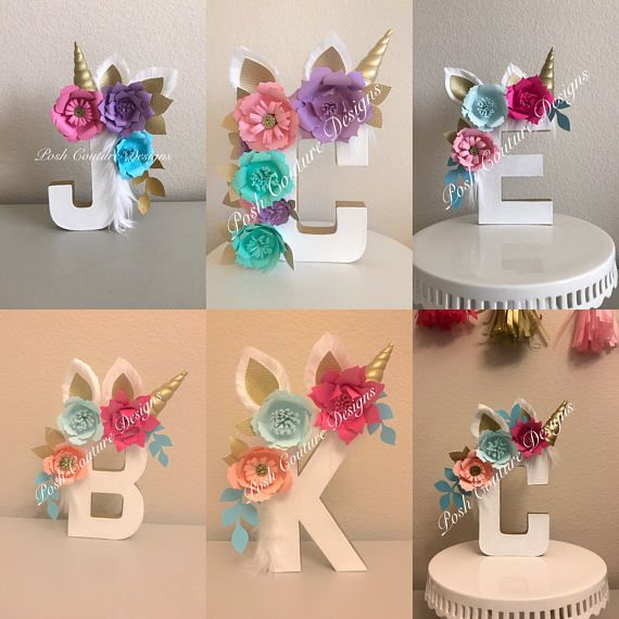 Pin de gema rodr guez en celebraciones ni a pinterest for Decoracion para pared unicornio