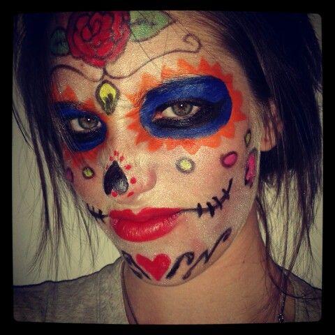 Catrina mexicana para Halloween!!! By MU