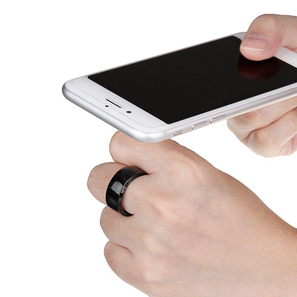 Fashion Finger Smart Rings Energy Stone Multifunctional Rings for