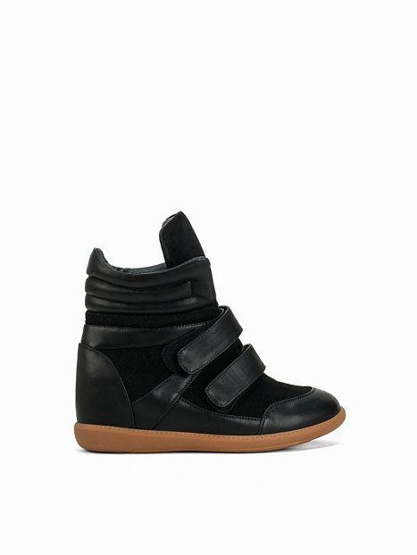 610e0661823 High Top Wedge Sneaker - Nly Shoes - Svart - Vardagsskor - Skor - Kvinna -