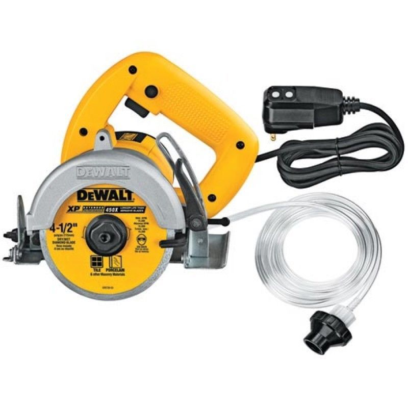 Dewalt Dwc860w 4 3 8 Inch Wet Dry Masonry Saw Wet And Dry Dewalt Masonry