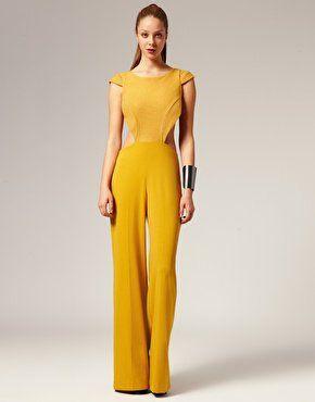 eb88642799e yellow jumpsuit