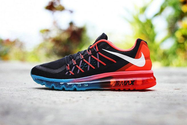 cheaper 9a880 82367 Free Shipping Only 69  WMNS Nike Air Max 2015 Black Hyper Crimson Hyper  Turquoise SiLVSer