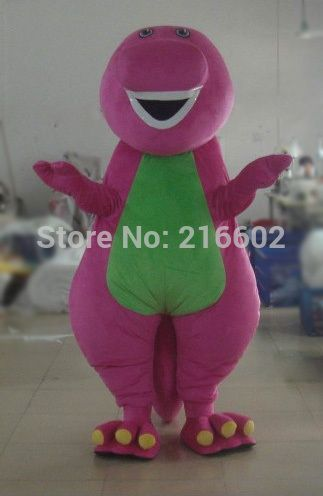 Barney Costume Adult