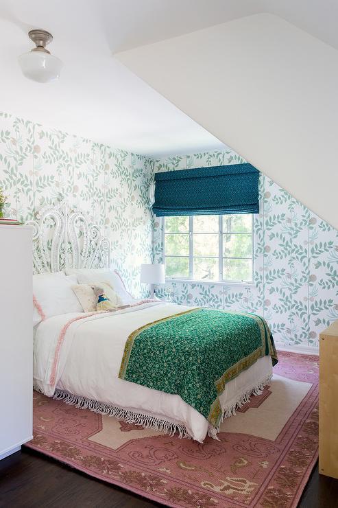 Whimsical Girls Bedroom Boasting Cole Son Secret Garden