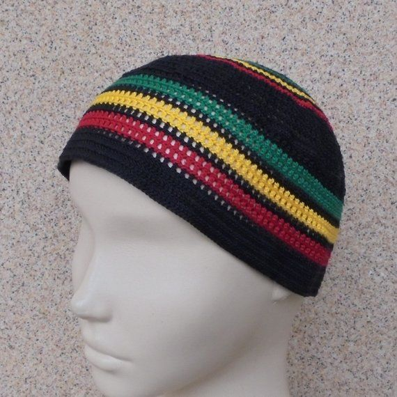 ce8d523408b Rasta hat Mens beach hat Gift hat for brother Rasta beanie Sun hat men Rastafari  hat Hippie beanie R