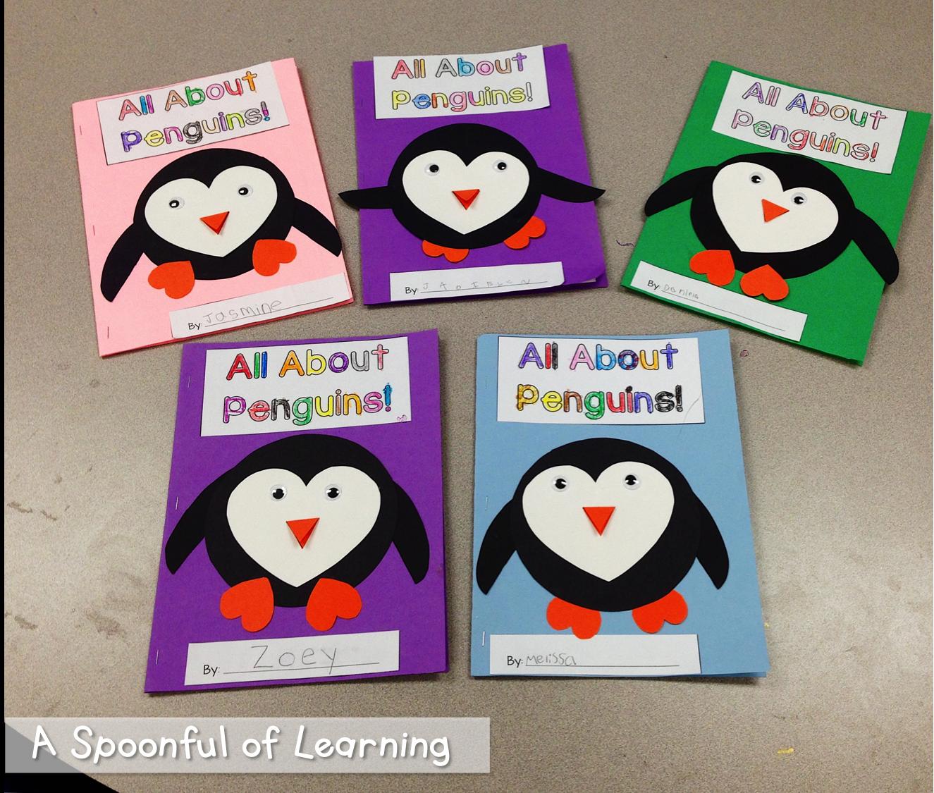 Penguins Informational Books