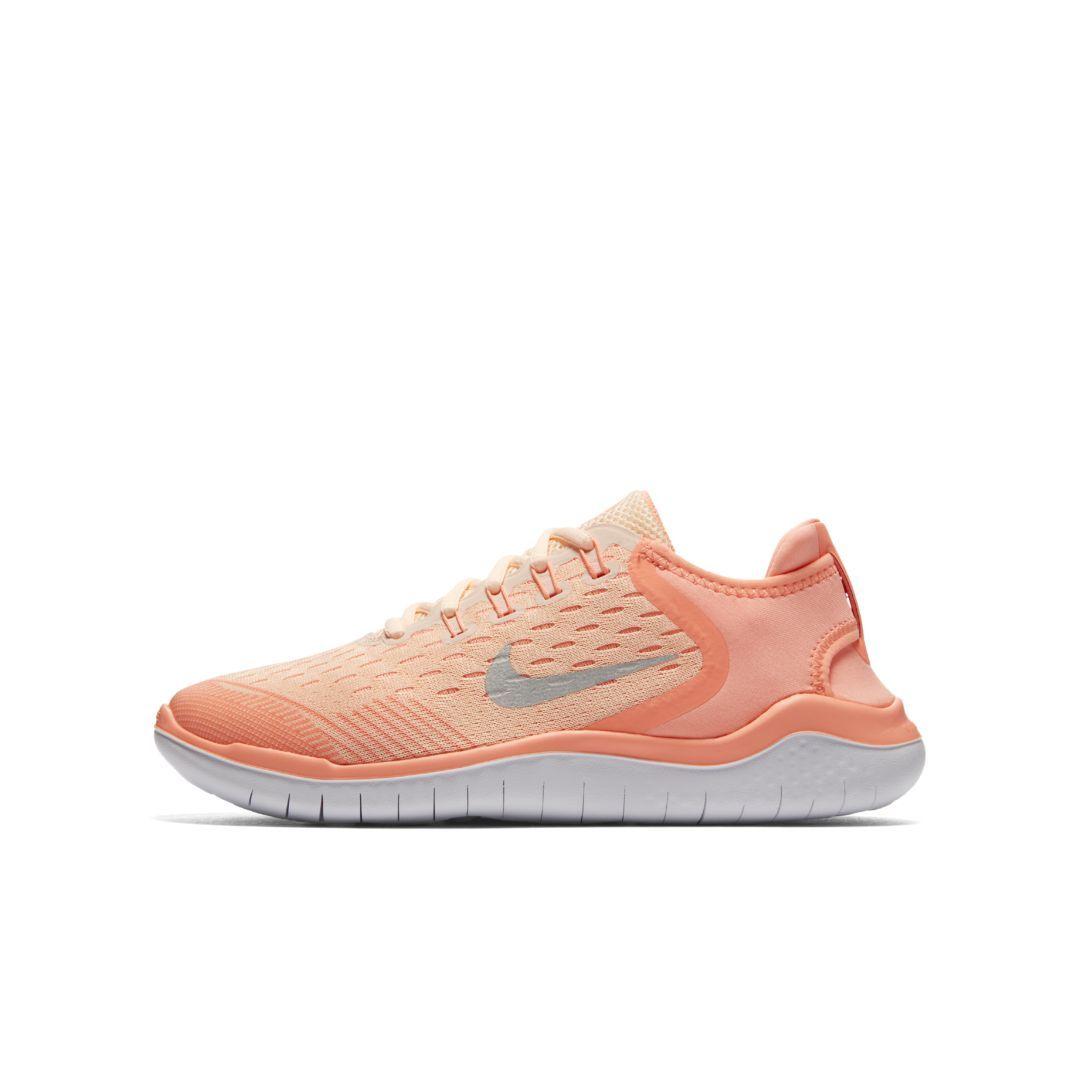 the latest dbb12 c0552 Nike Free RN 2018 Big Kids' Running Shoe Size 6.5Y (Crimson ...