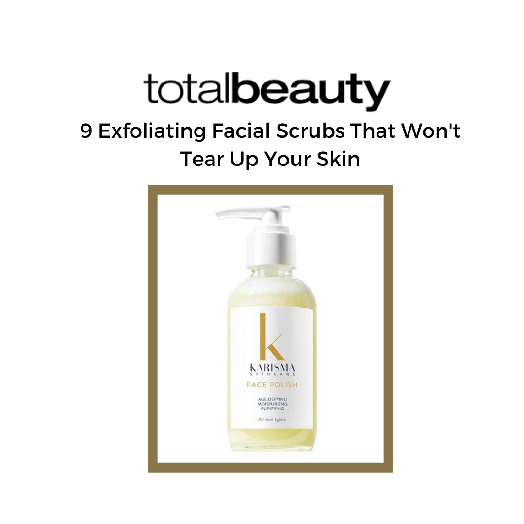 We're so excited that our Face Polish is featured in Total Beauty! #cleanskincare #cleanbeauty #skincare #beauty #greenbeauty