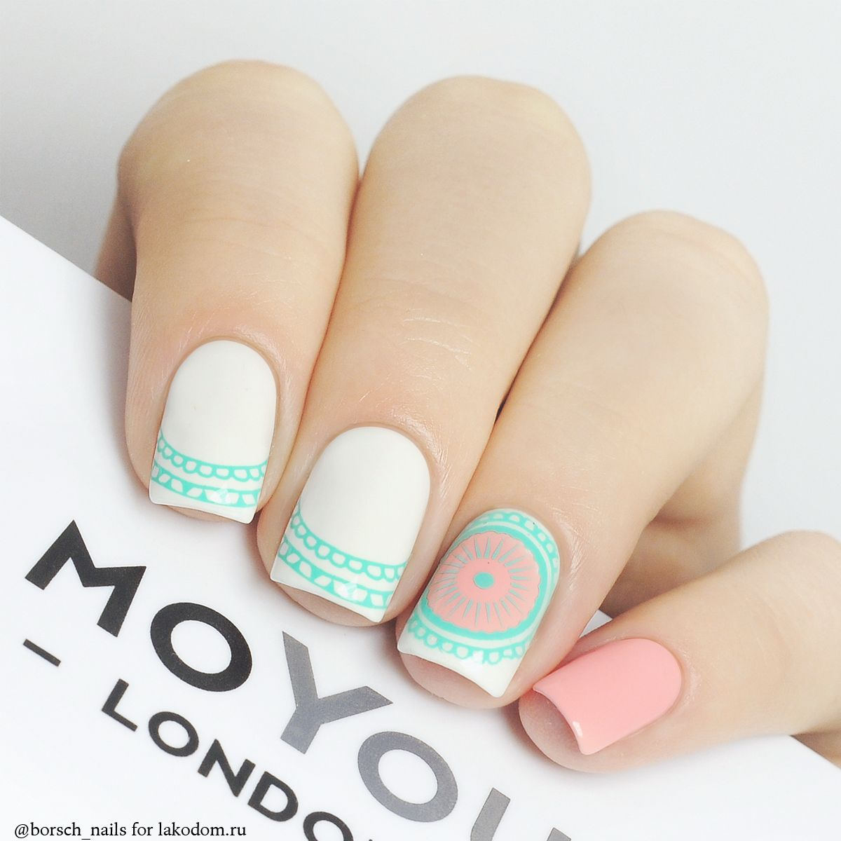 Маникюр moyou london 91