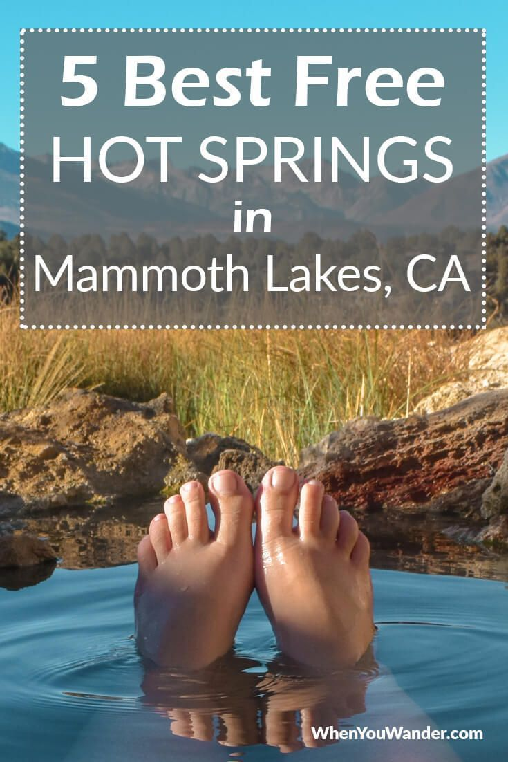 The best free hot springs in Mammoth Lakes offer relaxation, camping, and amazing mountain views. Get all the details to plan your California hot springs adventure in the Sierra Nevada Mountains. #traveltips #free #thingstodo #california #hotsprings #itinerary #budgettravel #travelguide #sierranevada #mountains #camping #travelplanning #mammothlakes