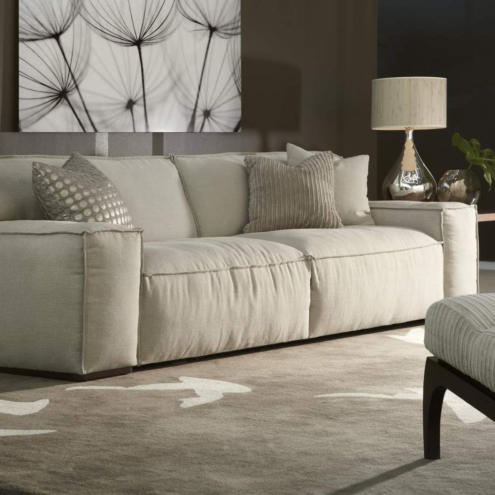 Down Filled Leather Sofa And My Beautiful Home By American